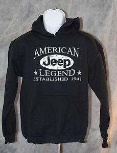 Jeep Hooded Sweatshirt Black Free Shipping | eBay