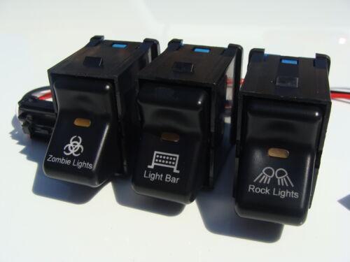 jeep tj wrangler zombie, light bar, rock lights rocker ... jeep tj rocker switch wiring lighted rocker switch wiring diagram 120v #15