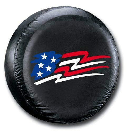 Jeep Wrangler Liberty Spare Tire Cover American Flag