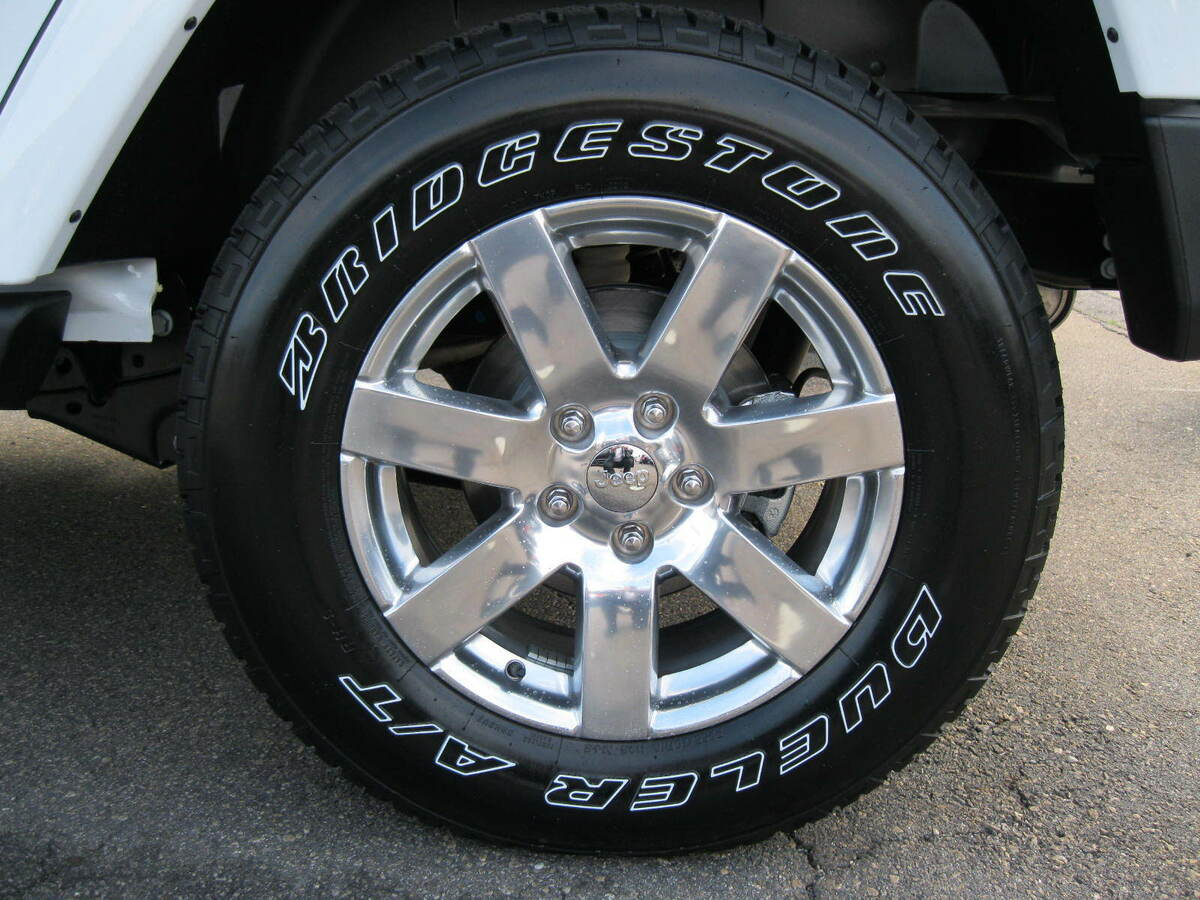 "Jeep Wrangler Production Wheels Wheel 18"" Polished Aluminum Mopar 18x7 5"