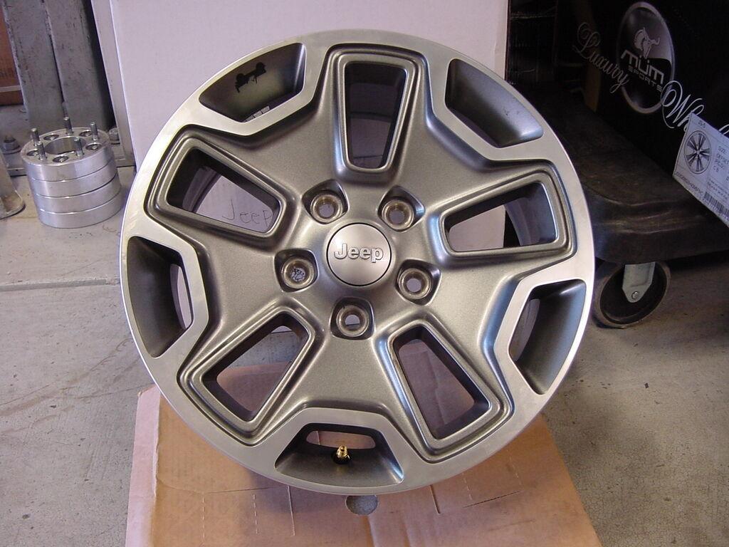 "Jeep Wrangler Rubicon 2013 17"" inch Wheel Rim Wheels Rims"