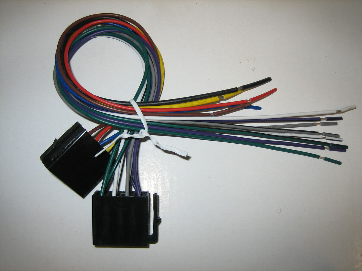 jensen phase linear original wire harness vm9223 uv8020 043258304407