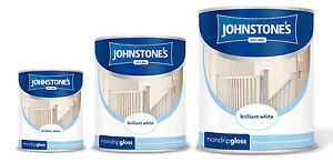 Johnstone 39 s non drip gloss paint all colours 250ml 750ml 2 5l - Johnstones exterior paint set ...