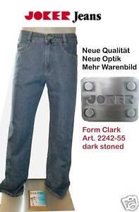 JOKER-Jeans-CLARK-dark-stoned-NEUE-Qualitaet-Gr-W34-L32