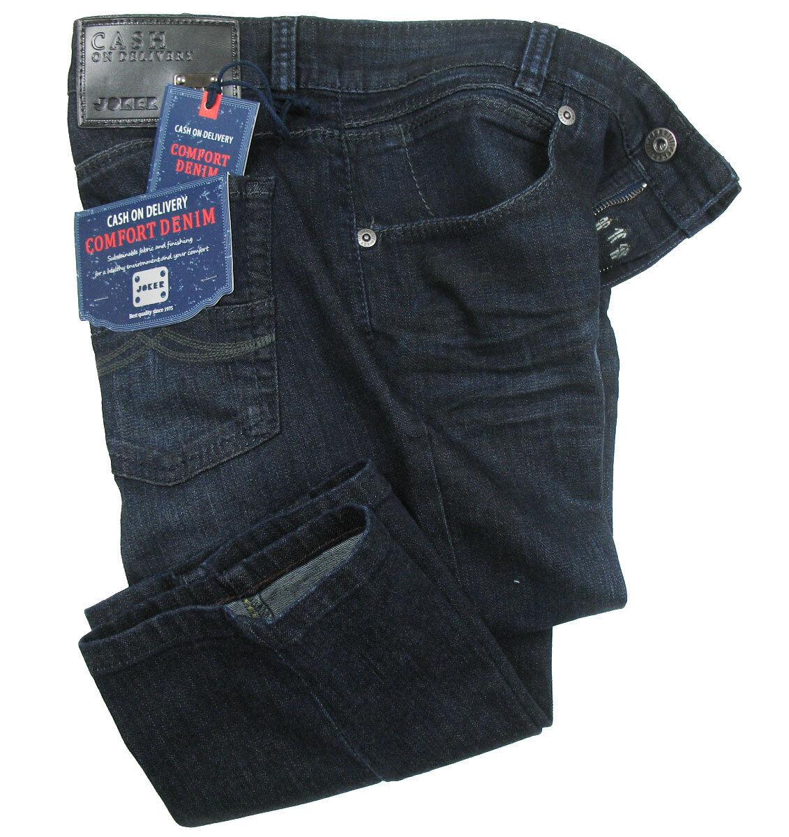 joker jeans freddy dark blue used mit stretchanteil comfort denim ebay. Black Bedroom Furniture Sets. Home Design Ideas
