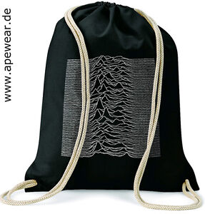 JOY-DIVISION-Unknown-Pleasures-Gymsac-Turnbeutel-Rucksack-Baumwolle