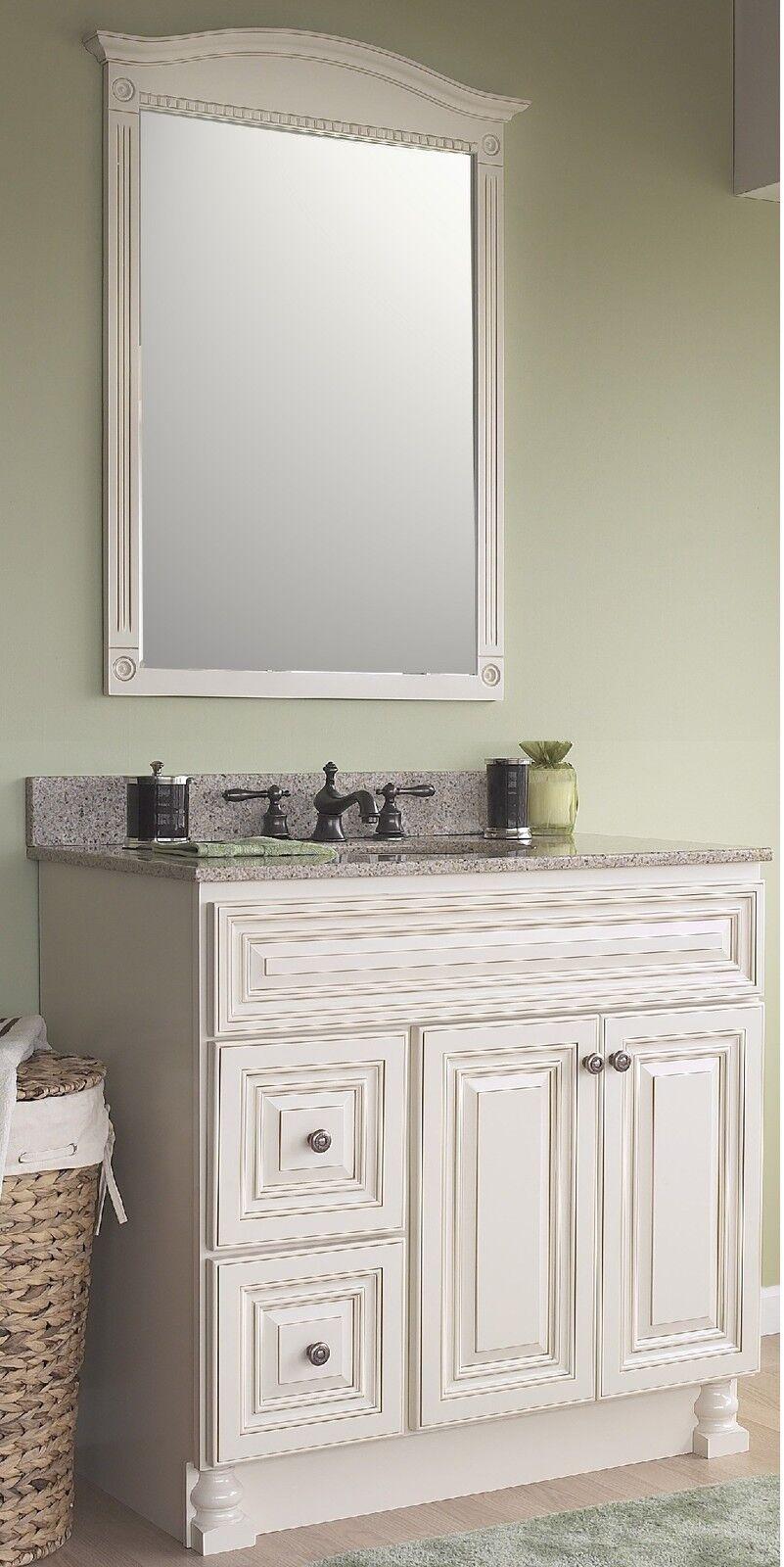 jsi wheaton cream bathroom vanity set 36 cabinet base 2 lh drawers 30