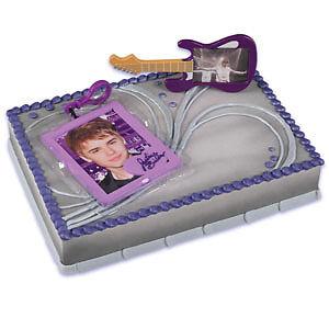 Justin Bieber Birthday Cake Kit