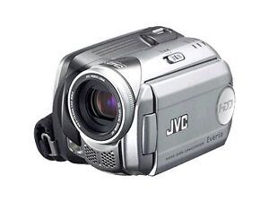 JVC Everio GZ MG21 20 GB Camcorder - Sil...