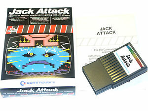 Jack-Attack-fuer-C16-116-Plus-4-Commodore-Modul-Cartridge-boxed-JACKAT