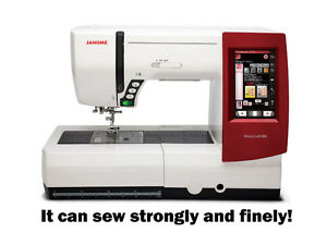 janome memory craft 9900 embroidery and sewing machine. Black Bedroom Furniture Sets. Home Design Ideas