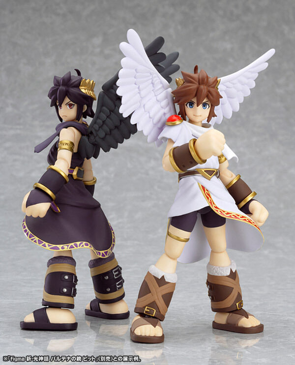 Japan Max Factory Figma Kid Icarus Uprising Action Figure Pit Amp Dark Pit KiDIcaruS