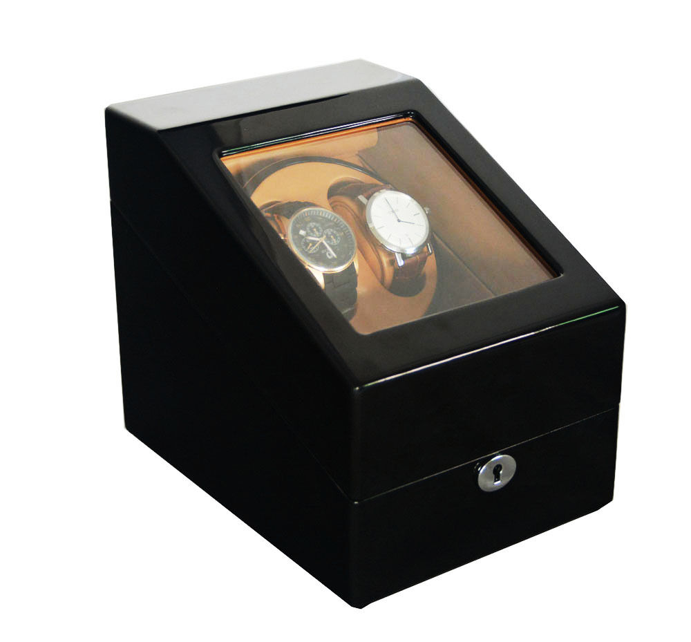 Japan motor modern automatic rotation watch winder display for 2 5 box auto