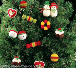 Jean Greenhowe Knitting Pattern, CHRISTMAS TREE TRIMS, Toy & Bauble ...