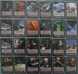 Jedi Knights TCG Premiere Rare, Silver & Gold Foil Cards Part 2/2 (1st Day Print