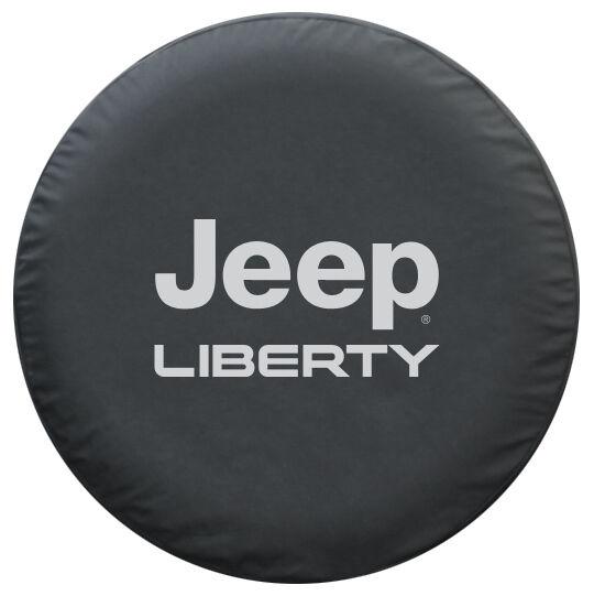 Jeep Liberty Premium Spare Tire Cover Black Denim 2002 2007