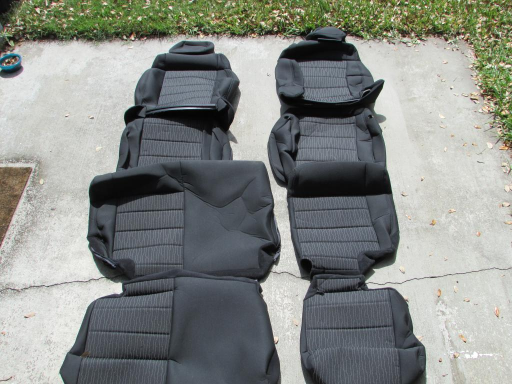 Jeep Wrangler JK Seat Cover Replacements