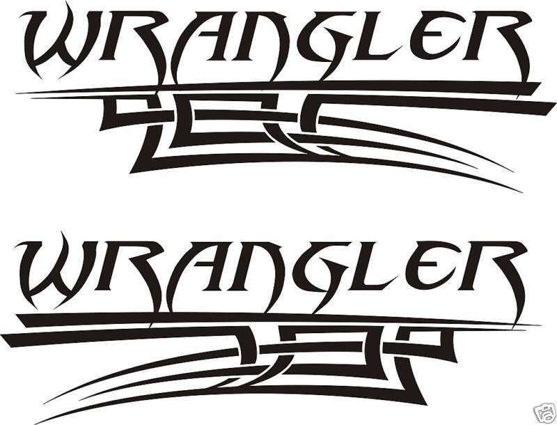 jeep wrangler decals and stickers