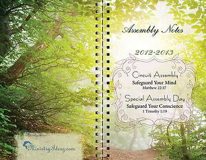 · jpeg, Jehovah's Witnesses 2013 Assembly Notebook Lot of 10 | eBay