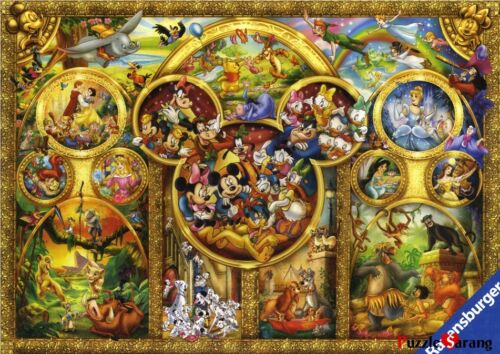 """Jigsaw Puzzles 1000 Pieces """"The Best Disney Themes"""" / Ravensburger in Toys & Hobbies, Puzzles, 1970-Now 