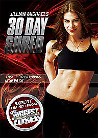 Jillian Michaels - 30 Day Shred (DVD, 20...