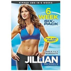Jillian Michaels: 6 Week Six-Pack (DVD, ...