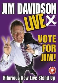 Jim Davidson - Vote For Jim (DVD, 2003)
