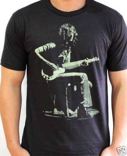 Jimmy Page Guitarist LED Zeppelin Vtg Rock T Shirt XL