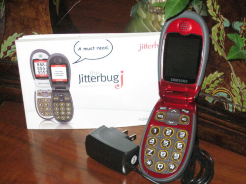 Jitterbug J Cell Phone ~ Great Refurb/Used Condition~ RED~ LAST CHANCE! in Cell Phones & Accessories, Cell Phones & Smartphones | eBay