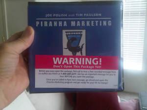Joe Polish's Piranha Marketing - Plus $2,000 in BONUSES, the BEST Deal Online! in Everything Else, Career Development & Education, Marketing | eBay