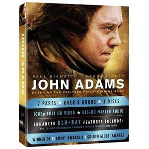 John Adams (Blu-ray Disc, 2009, 3-Disc S...