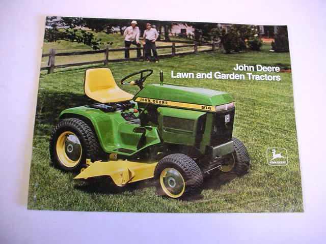 John Deere 400 Garden Tractor Attachments : John deere garden tractor