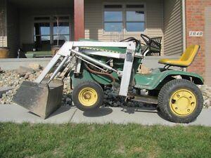 Http www ebay com itm john deere 140 h3 lawn garden tractor great