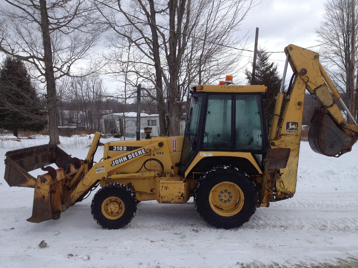 John Deere 310D 4x4 Backhoe Excavator Loader Dozer Trackhoe  Price