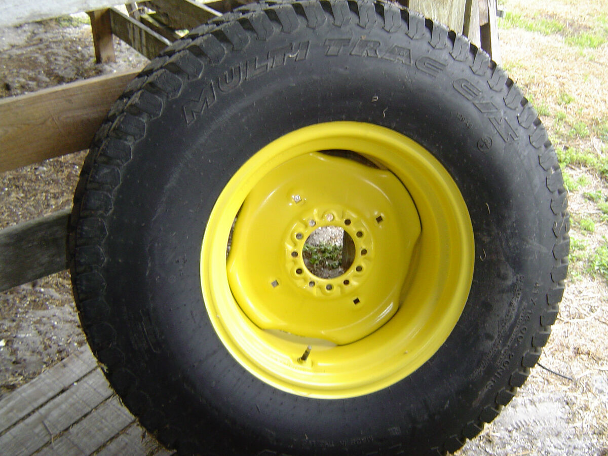 John Deere Compact Tractor Rear Tires and Rims for 4300