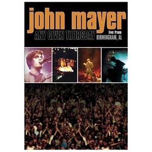 John Mayer - Any Given Thursday (DVD, 20...