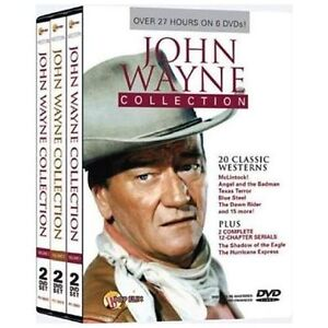 John Wayne Collection (DVD, 2008, 6-Disc...