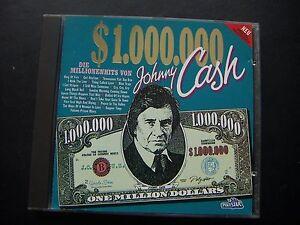 Johnny Cash - $ 1.000.000 Johnny Cash , Rockabilly - <span itemprop='availableAtOrFrom'>Wilhelmsdorf, Deutschland</span> - Johnny Cash - $ 1.000.000 Johnny Cash , Rockabilly - Wilhelmsdorf, Deutschland