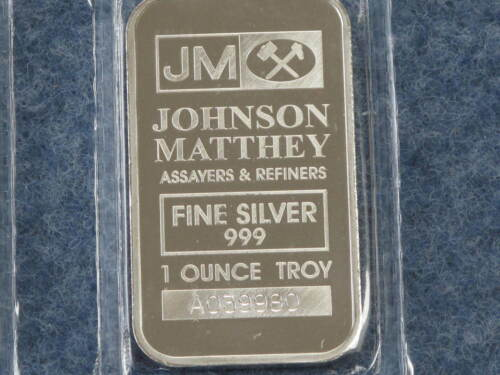 Johnson Matthey Sealed Gem Proof-like Lot of Ten 1 Ounce Consecutive # B8038L in Coins & Paper Money, Bullion, Silver | eBay