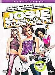 Josie and the Pussycats (DVD, 2001, PG V...