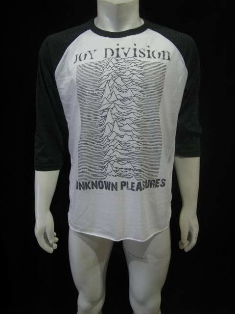 Joy Division Unknown Pleasures Punk Rock Jersey T Shirt