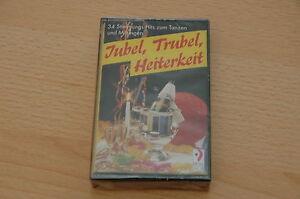Jubel, Trubel, Heiterkeit - Audiokassette 34 Stimmungs Hits zum Tanzen OVP - Deutschland - Jubel, Trubel, Heiterkeit - Audiokassette 34 Stimmungs Hits zum Tanzen OVP - Deutschland
