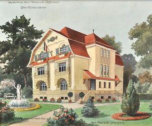 jugendstil landhaus blatzheim bonn bad godesberg architekt. Black Bedroom Furniture Sets. Home Design Ideas