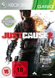 Just-Cause-2-XBOX360-Spiel-USK-18-NEU-OVP-uncut-deutsch