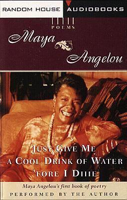 of Water Fore I Die by Maya Angelou 1997, Cassette, Unabridged