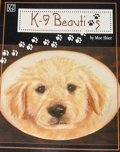 K-9 BEAUTIES Moe Shier Painting Pattern Book in Crafts, Art Supplies, Decorative & Tole Painting | eBay