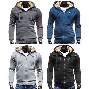KAMLIN-Herrenjacke-Winterjacke-Warm-Ubergangs-Jacket-Kapuze-Hoodie-MIX-1A1-SALE