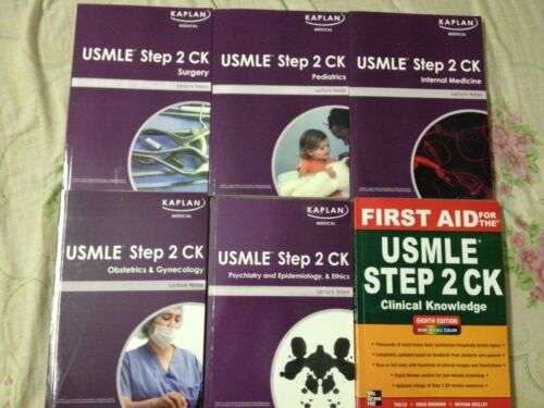 KAPLAN USMLE STEP 2 CK WITH USMLE FIRST AID 2012 AND STEP UP TO MEDICINE 2012 ED in Books, Other | eBay