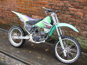 KAWASAKI KX125 BRAKE HOSE,1986,**BREAKING FOR SPARES**,KX ...