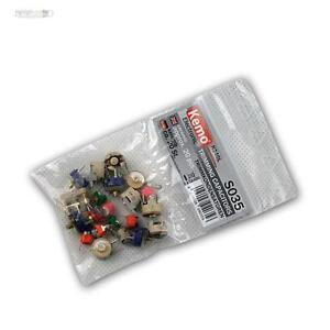 KEMO-S035-Trimmkondensatoren-ca-20-Stk-Trimm-Capacitors-Kondensator-Keramik